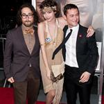 Joseph Gordon-Levitt and Sean Lennon with his girlfriend at 50/50 premiere 95147
