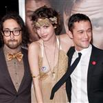 Joseph Gordon-Levitt and Sean Lennon with his girlfriend at 50/50 premiere 95148
