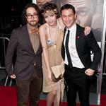 Joseph Gordon-Levitt and Sean Lennon with his girlfriend at 50/50 premiere 95149
