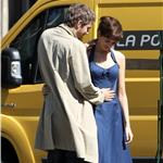 Anne Hathaway Jim Sturgess kiss in Paris while shooting One Day 68007