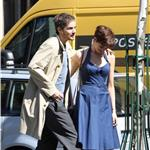 Anne Hathaway Jim Sturgess kiss in Paris while shooting One Day 68009
