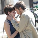 Anne Hathaway Jim Sturgess kiss in Paris while shooting One Day 68020