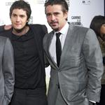 Jim Sturgess and Colin Farrell side by side in Spain to promote The Way Back  74731