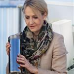 J.K. Rowling buries a time capsule to mark the start of building work on a research clinic for patients with multiple sclerosis in Edinburgh, Scotland 106985