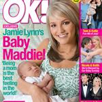 Jamie Lynn Spears and Maddie on the cover of OK Magazine 22265