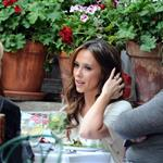 Jennifer Love Hewitt having lunch at The Ivy on her birthday 106839