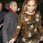 Jennifer Lopez and her reported boyfriend Casper Smart leave Ago Restaurant in West Hollywood 109076
