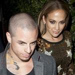 Jennifer Lopez and her reported boyfriend Casper Smart leave Ago Restaurant in West Hollywood 109077