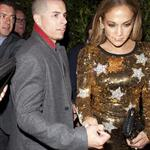 Jennifer Lopez and her reported boyfriend Casper Smart leave Ago Restaurant in West Hollywood 109078