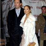 Jennifer Lopez Ben Affleck at Maid in Manhattan premiere December 2002 90325