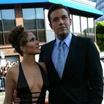 Jennifer Lopez Ben Affleck at Gigli premiere July 2003 90327