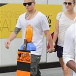 Jennifer Lopez and Casper Smart out in Toronto  120871