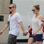 Jennifer Lopez and Casper Smart out in Toronto  120874