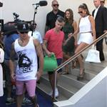 Jennifer Lopez with Capser Smart at Wet Republic in Las Vegas 123812