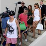 Jennifer Lopez with Capser Smart at Wet Republic in Las Vegas 123813