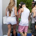 Jennifer Lopez with Capser Smart at Wet Republic in Las Vegas 123830
