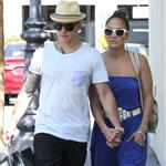 Jennifer Lopez and Casper Smart shop in LA 115409