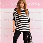 Jennifer Lopez yesterday in Japan promoting her new line of mommy handbags for Samantha Thavasa 35736