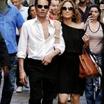 Jennifer Lopez and Marc Anthony sightseeing in Milan without twins 22003