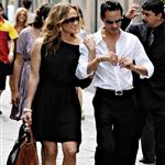 Jennifer Lopez and Marc Anthony sightseeing in Milan without twins 22001