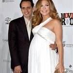 Jennifer Lopez pregnant with Marc Anthony at Movies Rock 15034