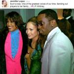 Jennifer Lopez with Whitney Houston and Puff Daddy  106251