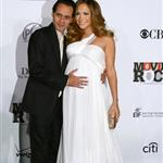 Jennifer Lopez pregnant with Marc Anthony at Movies Rock 15026