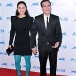 Joaquin and Rain Phoenix at PETA Gala 69515