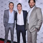Chris Hemsworth, Channing Tatum and Joe Manganiello attend the IWC Flagship Boutique New York City Grand Opening  112515