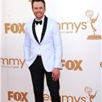 Joel McHale at Emmy Awards 2011 94487