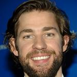 John Krasinski at the NBC Universal Experience with a beard 20480