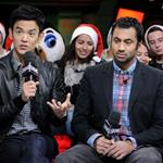 John Cho and Kal Penn appear on MuchMusic to promote A Very Harold & Kumar 3D Christmas 96753