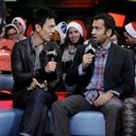 John Cho and Kal Penn appear on MuchMusic to promote A Very Harold & Kumar 3D Christmas 96760