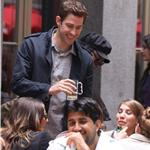 John Krasinski shoots Something Borrowed in New York with Kate Hudson June 2010  63021