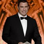 John Travolta speaks onstage at the 40th AFI Life Achievement Award honoring Shirley MacLaine 116900