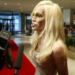 Donatella Versace at White House Correspondents' dinner 38771