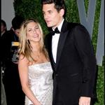 Jen and John at the Vanity Fair Oscar after party in February 35132