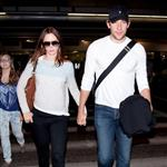 Emily Blunt John Krasinski arrive at LAX after spending the weekend in Vancouver 91830
