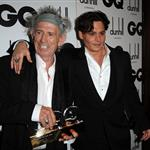 Johnny Depp honours Keith Richards at GQ Awards in London  93441