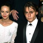 Johnny Depp at the 76th Annual Academy Awards, February 29, 2004 with Vanessa Paradis  106880