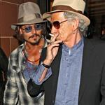 Johnny Depp goes out with Keith Richards in London 68973