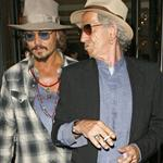 Johnny Depp goes out with Keith Richards in London 68977