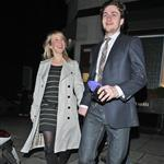 Aaron Johnson and Sam Taylor Wood out for dinner  58186