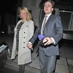 Aaron Johnson and Sam Taylor Wood out for dinner  58188