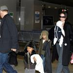 Brad Pitt and Angelina Jolie show off Vivienne and Knox in Japan 31535