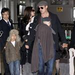 Brad Pitt and Angelina Jolie show off Vivienne and Knox in Japan 31528