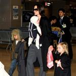 Brad Pitt and Angelina Jolie show off Vivienne and Knox in Japan 31529