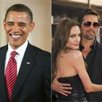 Us Magazine reports that Angelina Jolie hates Barack Obama 51190