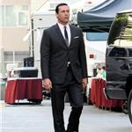 Jon Hamm on the set of Mad Men 99625