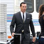 Jon Hamm on the set of Mad Men 99627